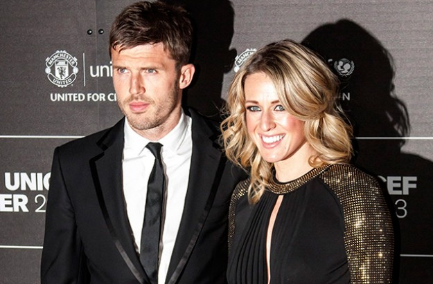 Lisa and Michael Carrick