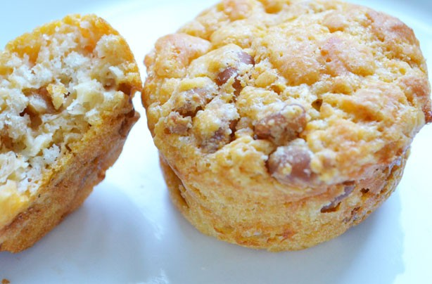 Baked bean muffins