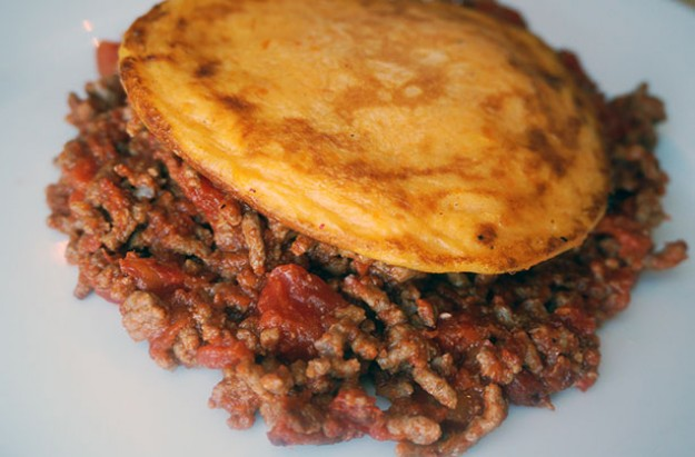 Cottage pie pancakes