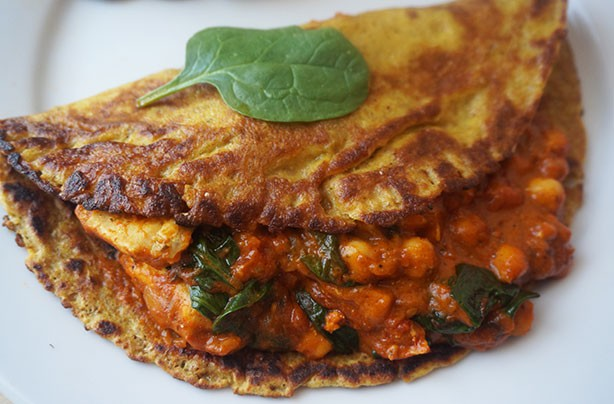 Curry pancakes