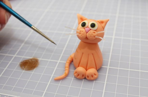 How To Make Cat Cake Topper
