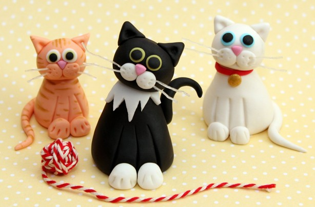 How To Make A Cat Out Of Fondant Icing