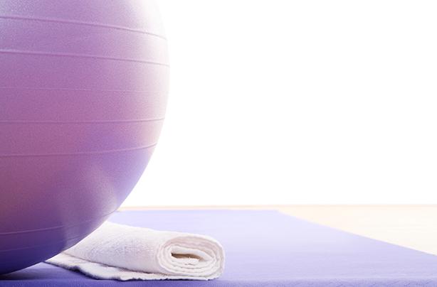 6 easy Swiss ball exercises