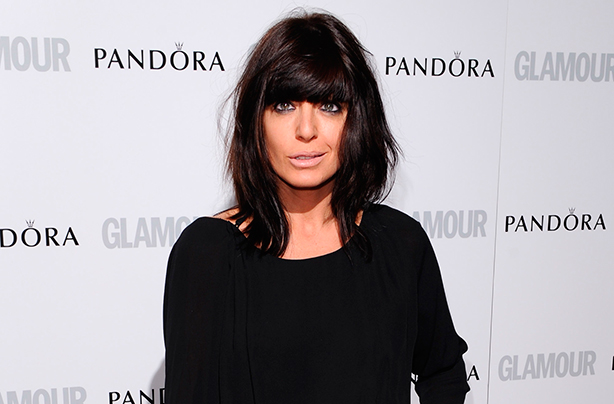 Wait till you see: Claudia's ditched her famous fringe!