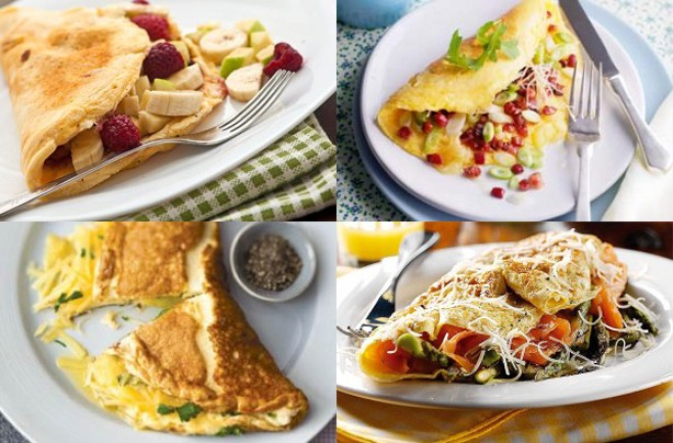 10 tasty omelette fillings