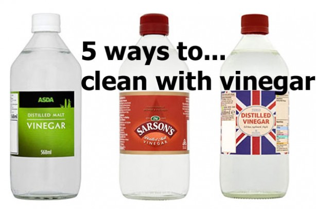 How to spring clean your home using vinegar