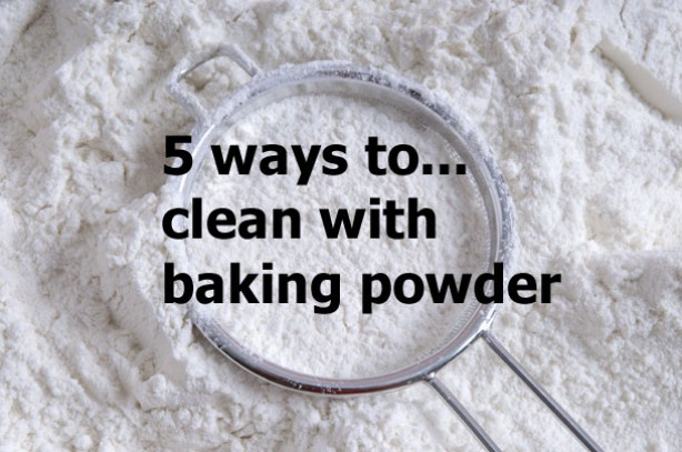 How to spring clean your home using baking powder how to clean