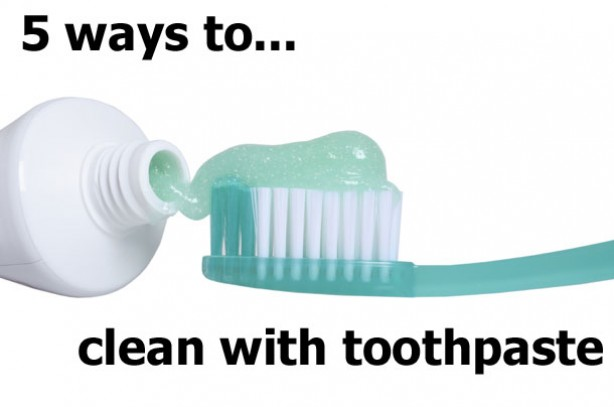 How to spring clean your home using toothpaste how to clean