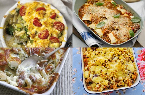 Summer pasta bakes