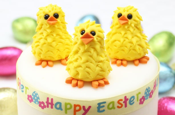 Easter Chick Cake Decorations Goodtoknow