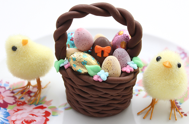 Easter basket cake decorations - goodtoknow
