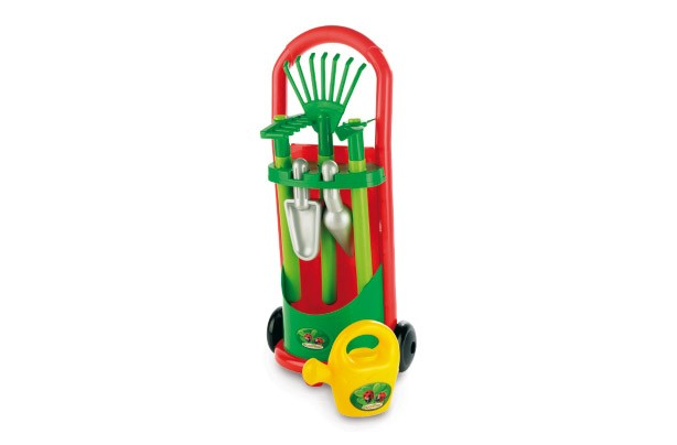 50 outdoor toys for Summer: Kids Garden Trolley Tool Set