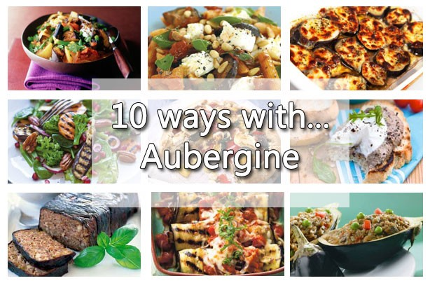 10 ways with aubergine