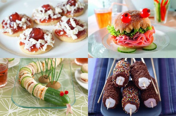 16 quick, easy and fun kids' party food ideas