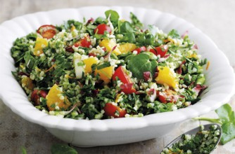 Watercress tabbouleh