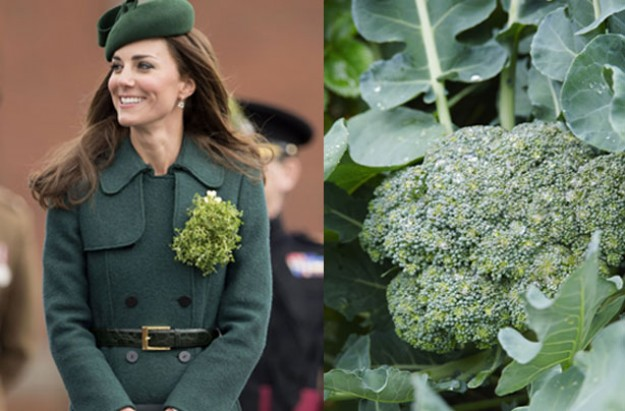 Kate Middleton broccoli