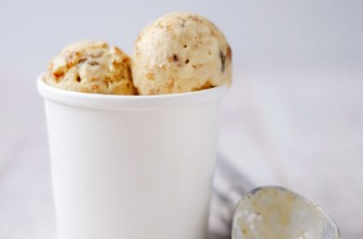 Edd Kimber's hot cross bun ice cream