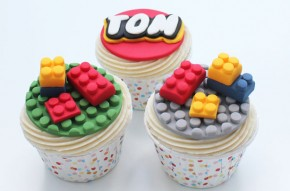 Lego cake decorations