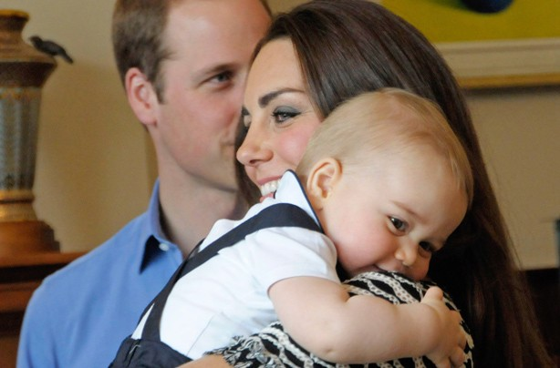 Kate's favourite photo of her and Prince George