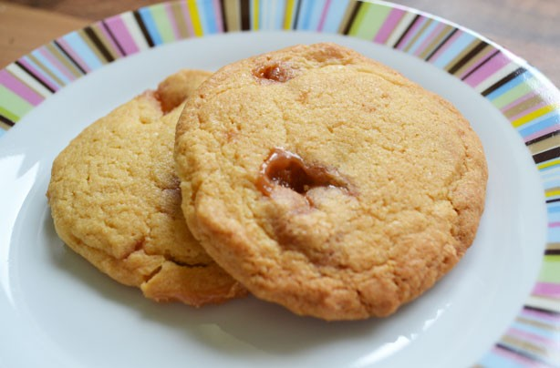 Banana Angel Delight cookies