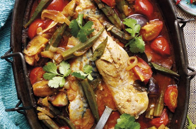 Malaysian fish curry