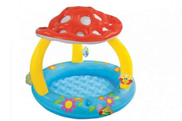 Best (and cheapest) paddling pools: Amazon Intex Mushroom Baby Pool