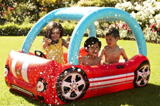 Best (and cheapest) paddling pools: Debenhams ELC Red Racing Paddling Pool