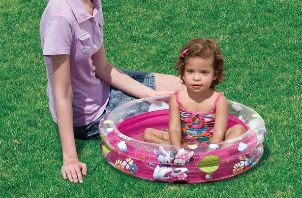 Best (and cheapest) paddling pools: Toys R Us Minnie Mouse 2 Ring Paddling Pool