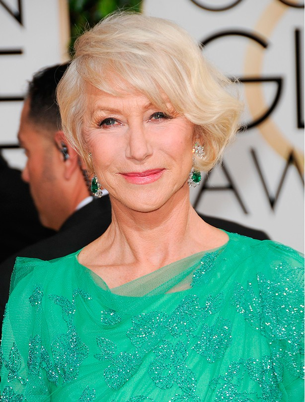 Short haircuts - Helen Mirren