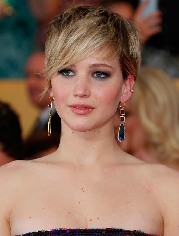 Short haircuts - Jennifer Lawrence