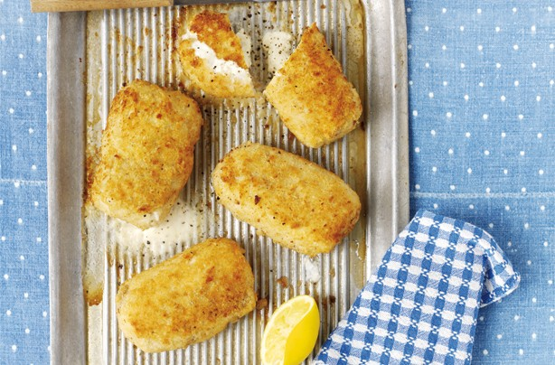 Cheesy chicken kiev