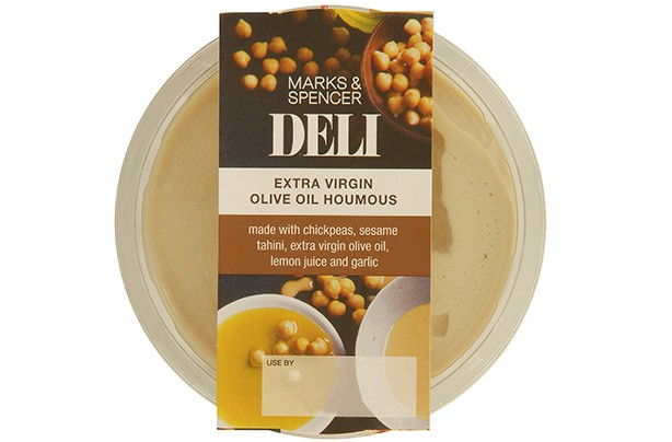 Marks & Spencer Extra Virgin Olive Oil Houmous 300g