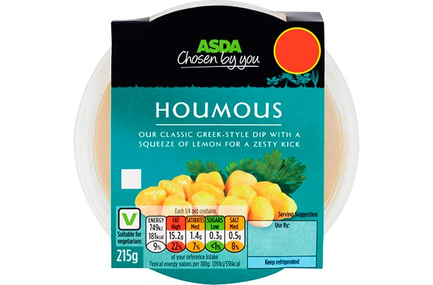 ASDA Chosen by You Houmous 215g