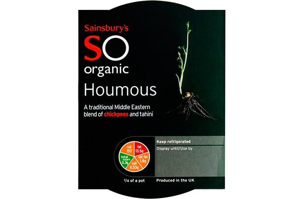 Sainsbury's Organic Houmous 200g