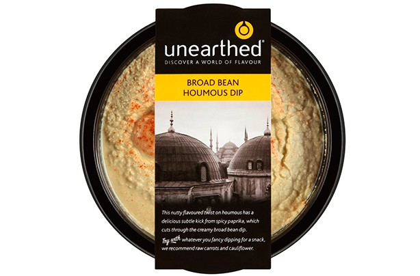 Unearthed Broad Bean Houmous Dip 170g