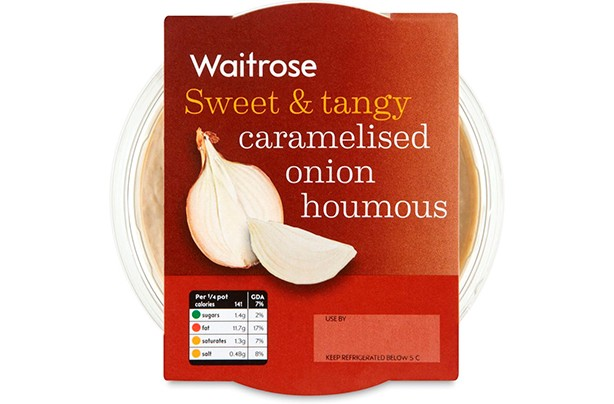 Waitrose Caramelised Onion Houmous 200g