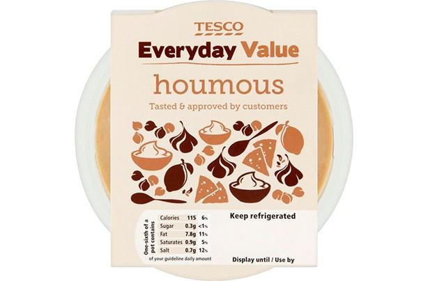 Tesco Everyday Value Houmous Dip 300g