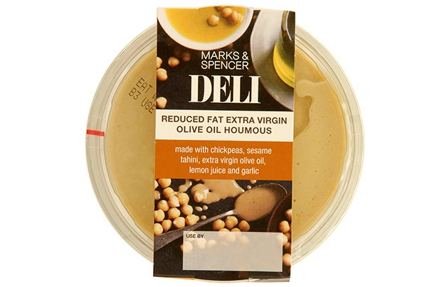 Marks & Spencer Reduced Fat Extra Virgin Olive Oil Houmous 300g