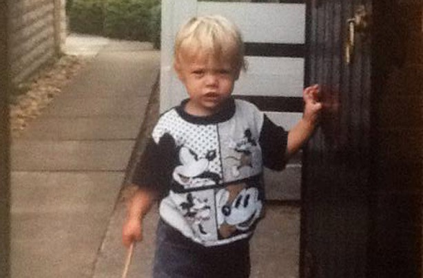 Harry Styles as a child