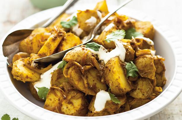 Mild curried potato salad recipe - goodtoknow
