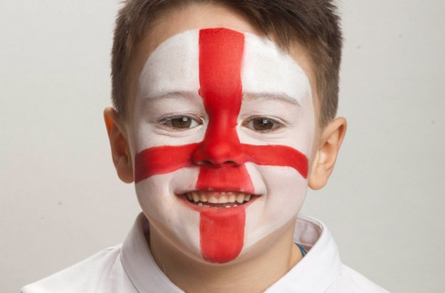 England face paint