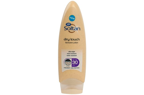 BOOTS Soltan Dry Touch Suncare Lotion SPF30