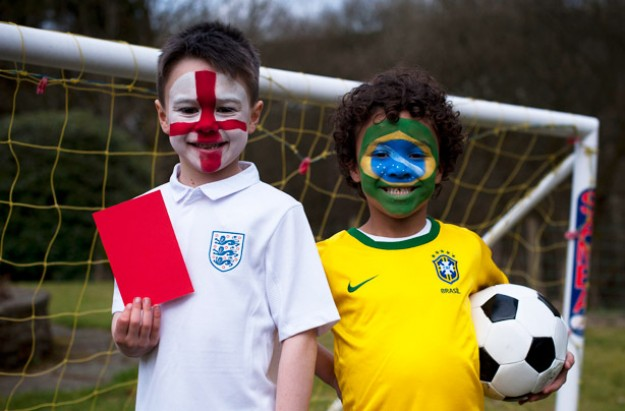 World Cup face paint