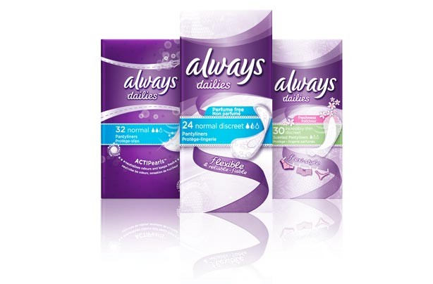 Always Dailies Pantyliners