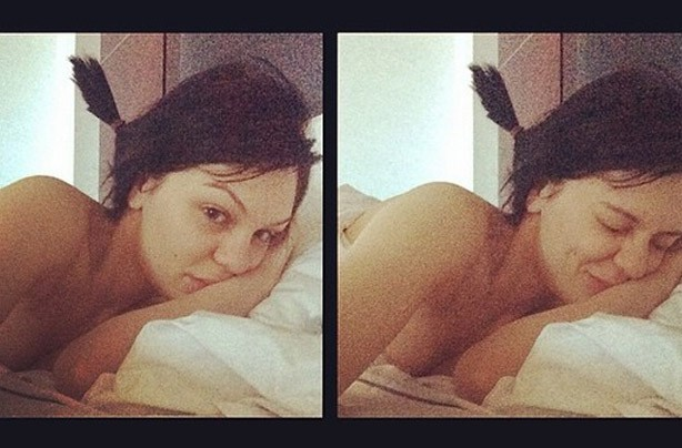 Jessie J without make-up