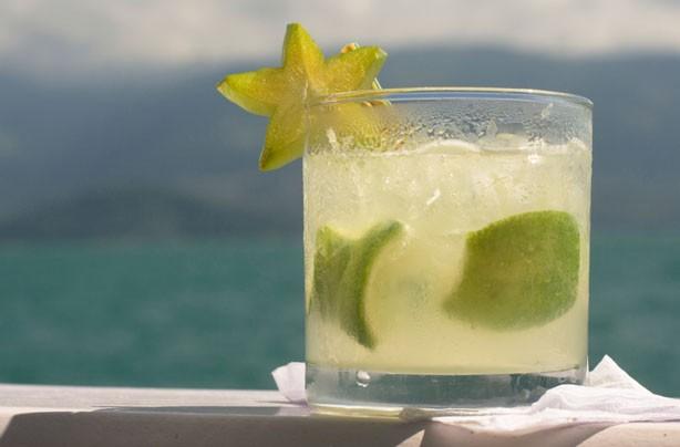 Caiprinha cocktail