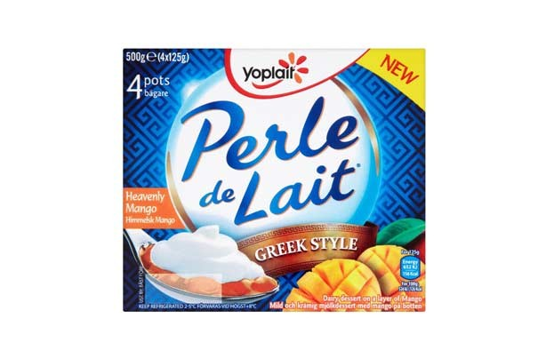 Waitrose Yoplait Perle de Lait Greek Style Style Heavenly Mango