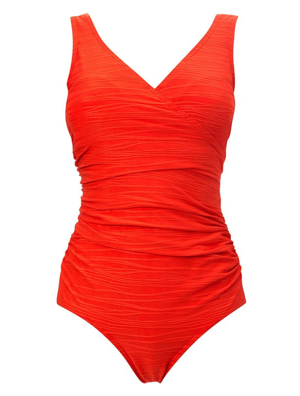Red swimsuit by Wallis £24