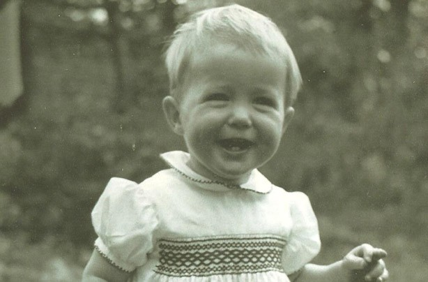 Hugh Grant as a child