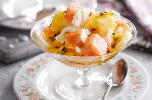 Tropical Fruit Eton Mess Recipe — Dishmaps